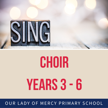 Friday 19 Feb: Join the Choir for Years 3 to 6