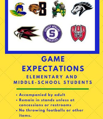 Beaverton School District Game Day Expectations