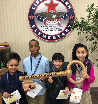 Soaring Eagle Badge Winners