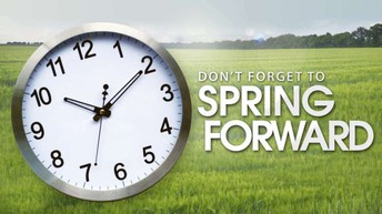 Daylight Savings Time-Sunday March 14