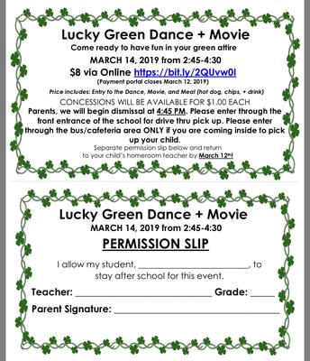 Lucky Green Dance!