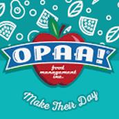 OPAA FOOD NEWS!