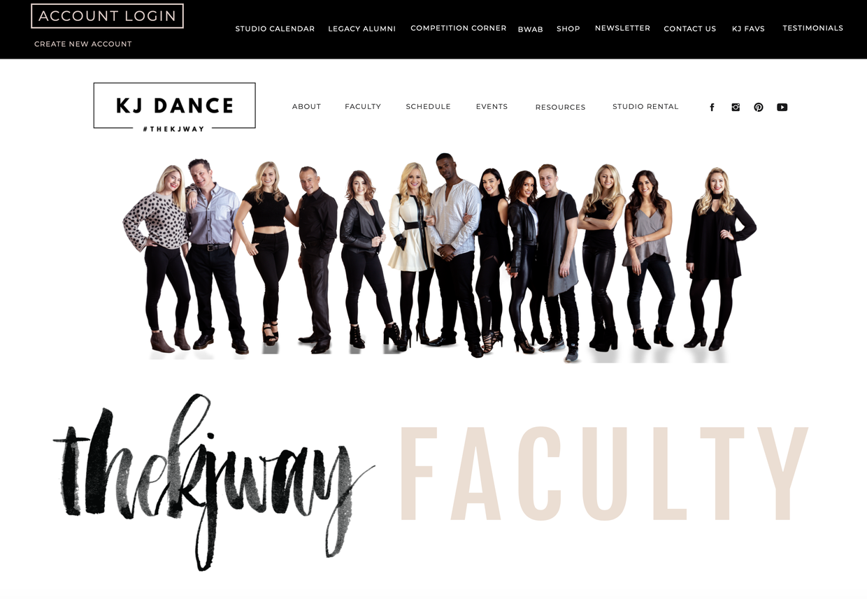 CLICK THE IMAGE TO READ ABOUT THE KJ FACULTY