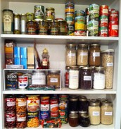 Cleaning out your pantry