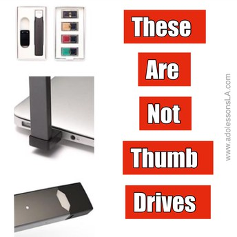 Parents....These are not thumb drives!