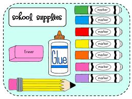School Supplies 2020-2021