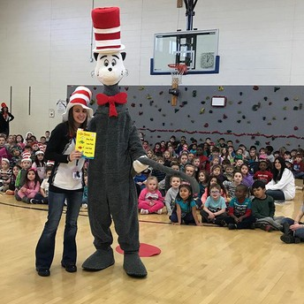 Cat in the Hat Visit