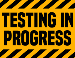 A note from our Testing Coordinator