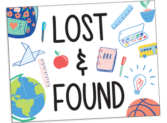NO LOST AND FOUND