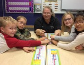 Students learned about Puff Addy the Hognose Snake.