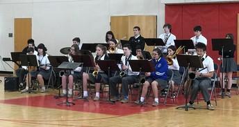 NCHS Jazz Band, Orchestra & Folkloric Presentation