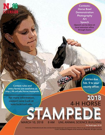 2018 4-H Horse Stampede