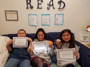 Ms. Wissman's Award Winners!