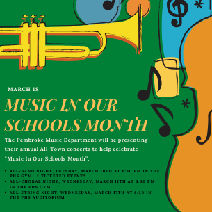 """March is """"Music In Our Schools Month""""!"""