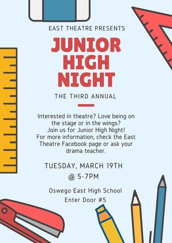 OEHS Junior High Night
