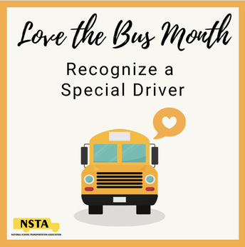 TAKE TIME TO THANK YOUR BUS DRIVER