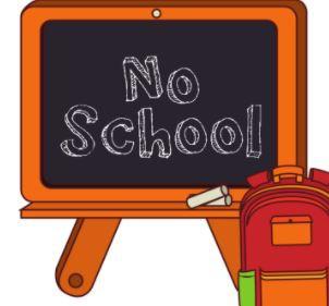 No School October 8 and 9