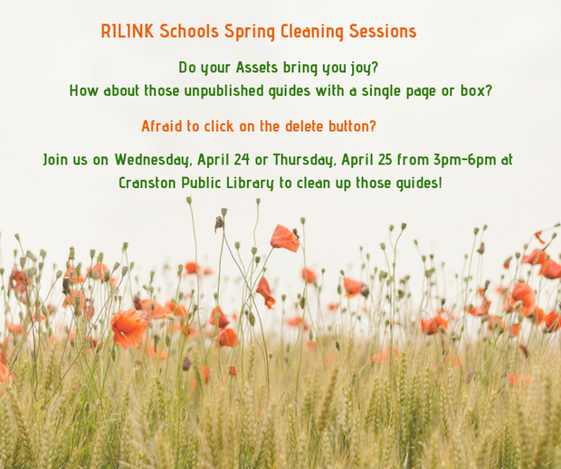 Register for Spring Cleaning Session