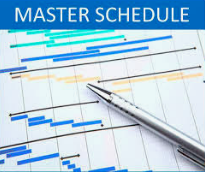 """Master Schedule """"SubCommittee"""" 1/6 @ 3:30 Library"""