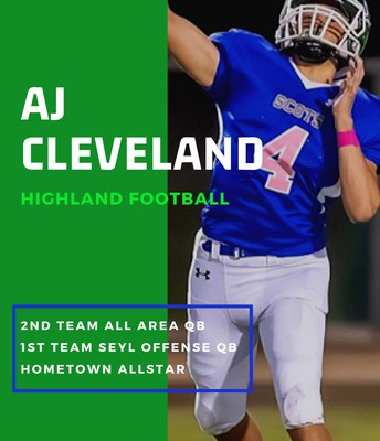 Junior AJ Cleveland