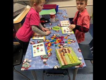 Beginning sound games in Kindergarten