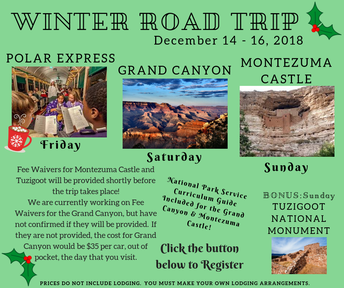 Arizona Winter Road Trip