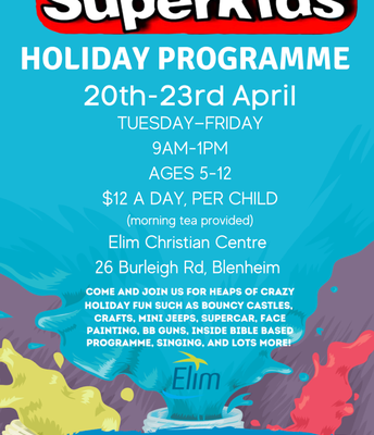 Superkid's Holiday Programme