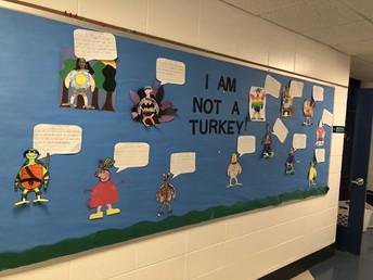 More I'm not a Turkey 2nd grade