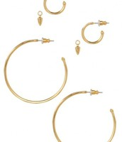 Orbit Hoops - Gold