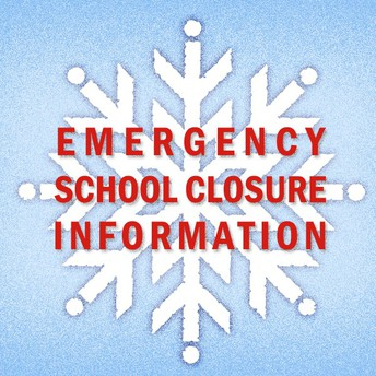 Picture of emergency closure information