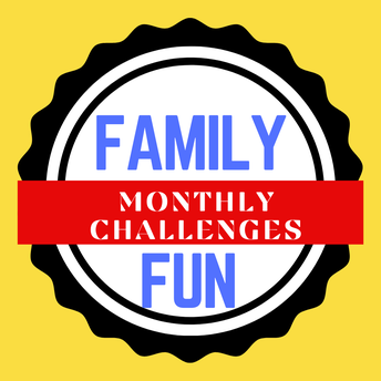 FAMILY FUN WEBSITE -- Monthly Challenge Prizes!