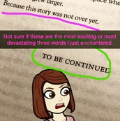 #booksnap your reactions