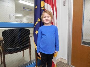 Kindergarten Panther Pride Winner