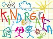 Calling all Incoming Kindergarten Kiddos!