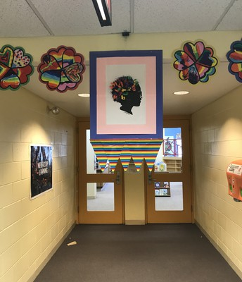 Our schools are all decked out in honor of Ella!