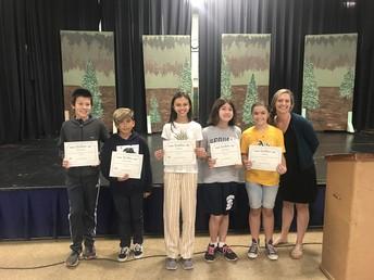 6th Grade Core Awards Mrs. Blechman