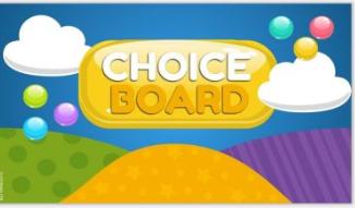 K-5 Choice Board