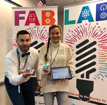 Fab Lab allows students to explore, build, create, design and code
