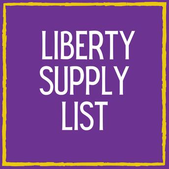 Liberty Supply List