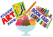 Art Fair, Book Fair, & Ice Cream Social- May 4th