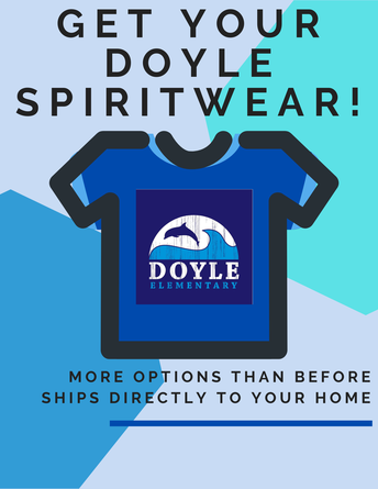 Doyle Spirit Day on Thursdays!