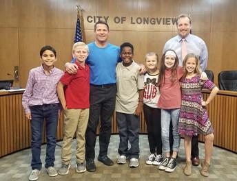 Mayor Andy Mack Invites SHISD Students to City Hall