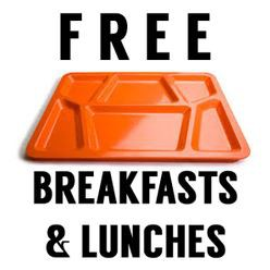 FREE BREAKFAST AND LUNCH REMINDERS