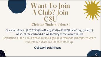 CSU Christian Student Union