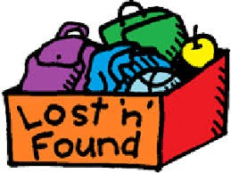 Please Check the Lost & Found