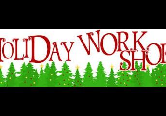 Holiday Workshop 12/1