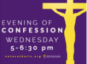 LENTEN EVENINGS OF CONFESSION