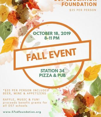 Education Foundation Event TONIGHT!