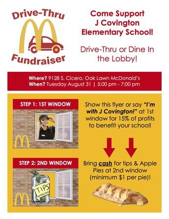 McDonalds Fundraiser