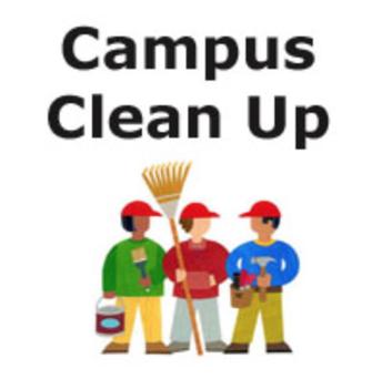 Spring Campus Clean Up